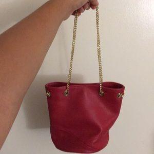 Barney's New York mini bucket bag